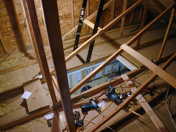 Installing Attic Ladder Amp Fold Down Attic Stairs Attic