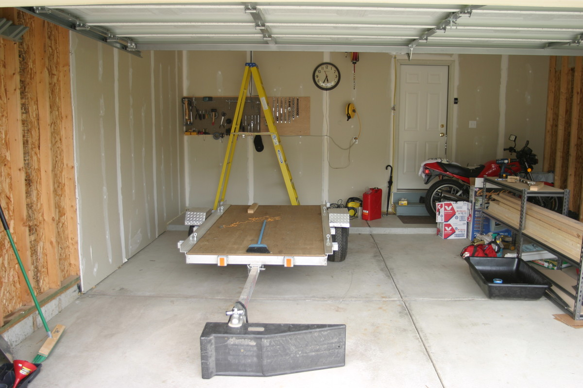 Panofish Garage Trailer Lift