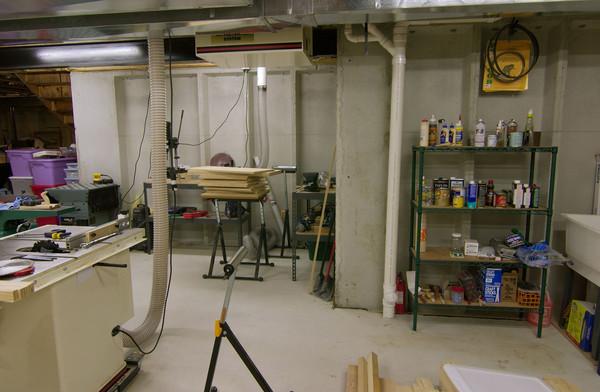 panofish basement woodshop tour