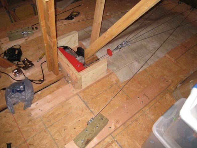 Panofish 187 Garage Boat Lift